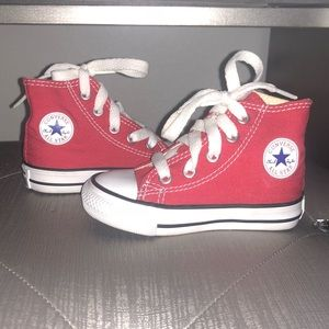 All Star Converse Hightop Toddler Shoes